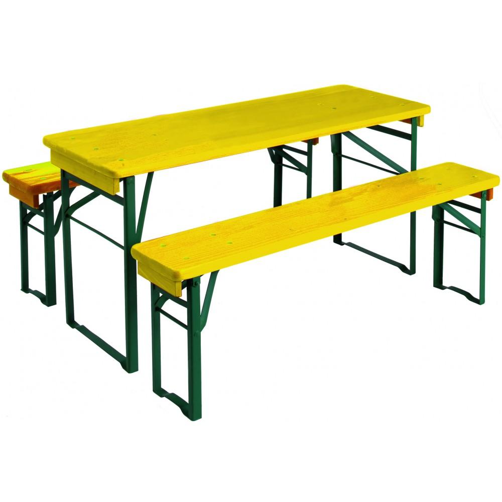 Table pique nique enfant longueur 110 cm mini brasseur - Table pique nique enfants ...