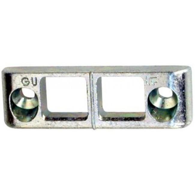 Gâche de tringle - pour menuiserie PVC - E-19509 FERCO