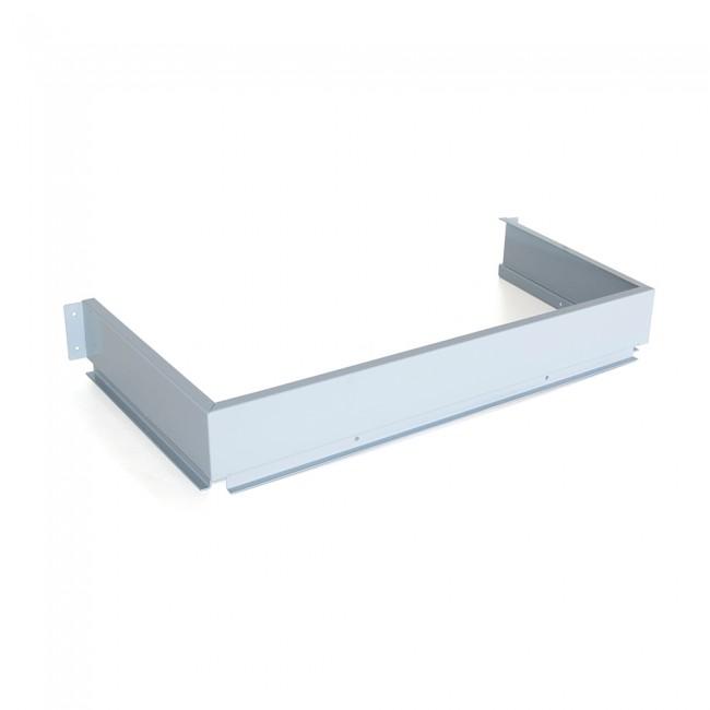 Façade arrière métallique pour les tiroirs sous-évier Emuca en acier EMUCA