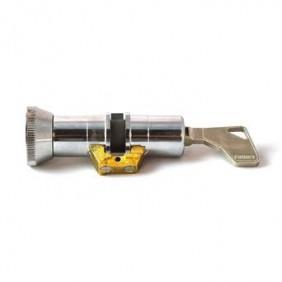 Cylindre double à bouton série 484 pour serrure à larder FICHET