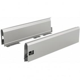 Profils ArciTech-hauteur 126 mm-argent HETTICH