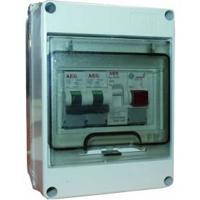 Coffret électrique étanche pré-câblé - spécial chauffe eau AEG