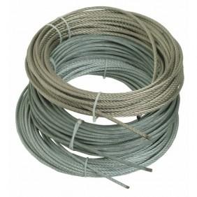 Câbles métallique 7 torons de 19 fils - Inox AISI 316 extra souples