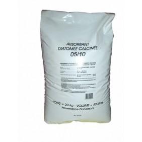 Absorbant minéral Terre de diatomée - Sac 20 kg BIC