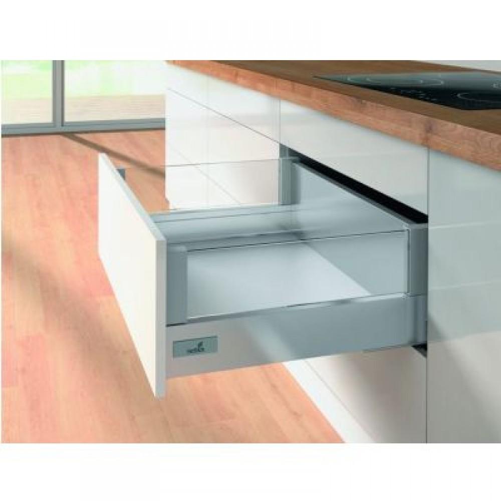 kit tiroir designside innotech atira hauteur 144mm silent system 30kg hettich bricozor. Black Bedroom Furniture Sets. Home Design Ideas