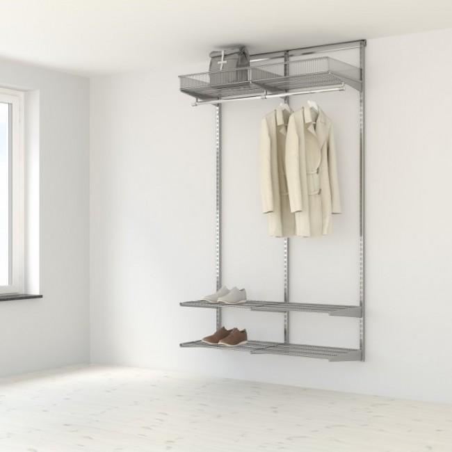 Kit dressing Classique - L120xP40 cm - platinium ELFA