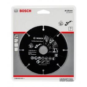 Disque carbure multi-usage 125 mm BOSCH