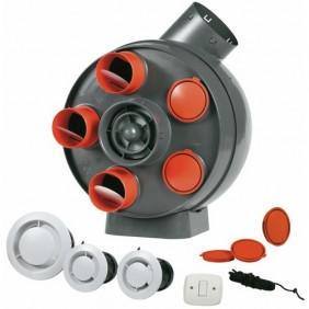 Kit VMC - simple flux - autoréglable + 12 accessoires - Penta VORTICE