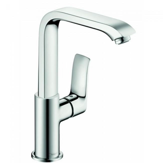 Mitigeur lavabo chromé - bec haut orientable - Metris 230 - 31087000 HANSGROHE