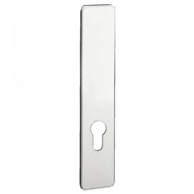 Plaque de poignée de porte en aluminium anodisé – Ton argent - Golf VACHETTE