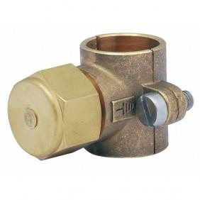 Collier pour mise à la terre - pour conduite montante gaz en cuivre