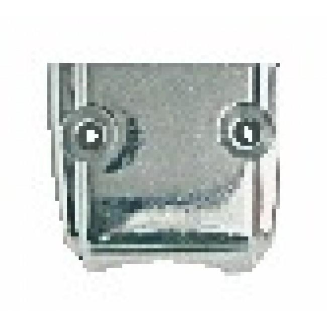 Conduit intermédiaire pour crémone en acier type 342