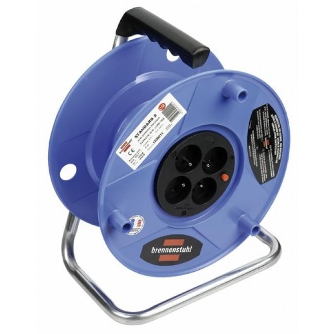 Enrouleur câble électrique - Série S - sans câble BRENNENSTUHL