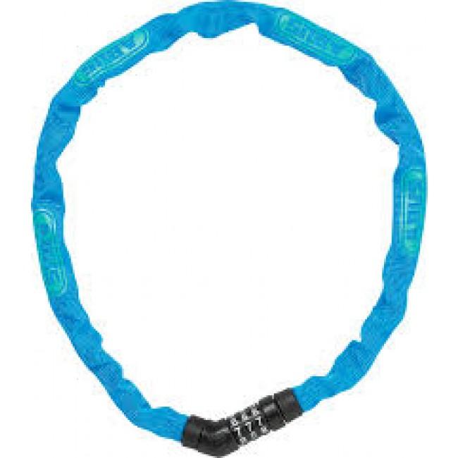 Chaine antivol à maillons carrés 4 mm - à code - Steel-O-Chain 4804C ABUS