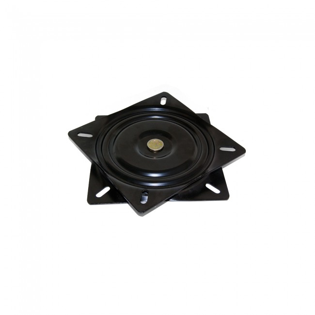 Support TV 360° Giro1 en acier finition noir peint EMUCA