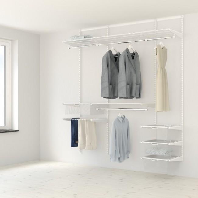 Kit Dressing Classique Plus - L210x40 cm - blanc ELFA