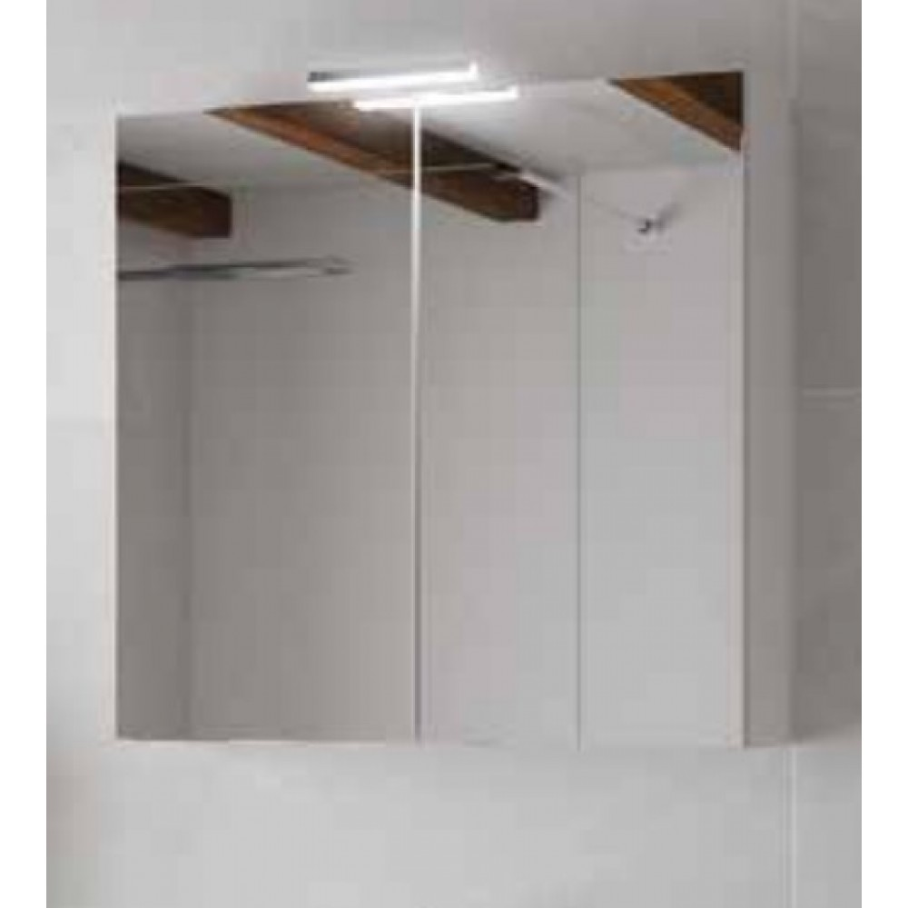 Charmant Armoire De Toilette   Blanc Brillant U0026 Miroir   Angelo 800 Ou 600mm Néova