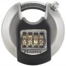 Cadenas disque extérieur à combinaison - Anse octogonale protégée MASTER LOCK