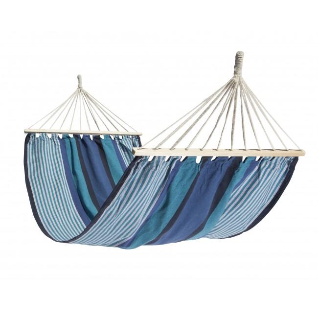Hamac à barre - Coton & Polyester - Ticao BlueStripe ESCUDEROS