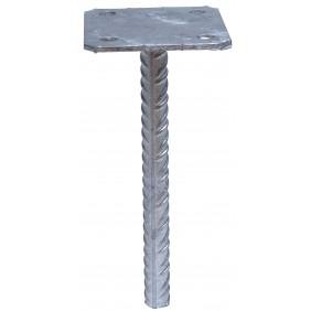 Pied de poteau simple - platine à sceller - PPSP SIMPSON Strong-Tie