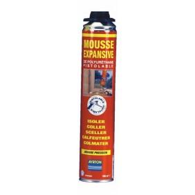 Mousse polyuréthane - bombe pistolable à visser - 750 ml AYRTON