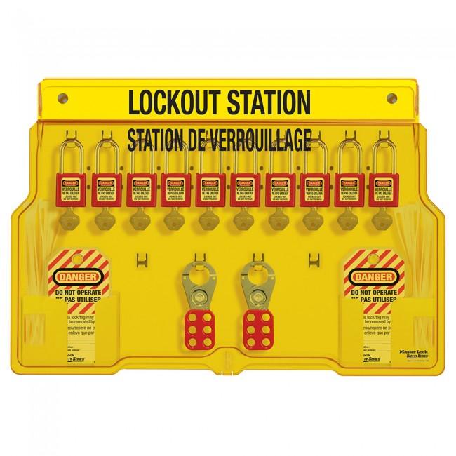 Station de consignation pour 10 cadenas MASTER LOCK