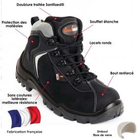 Chaussures hautes Hot Pepper S3 SRC HI CI GASTON MILLE