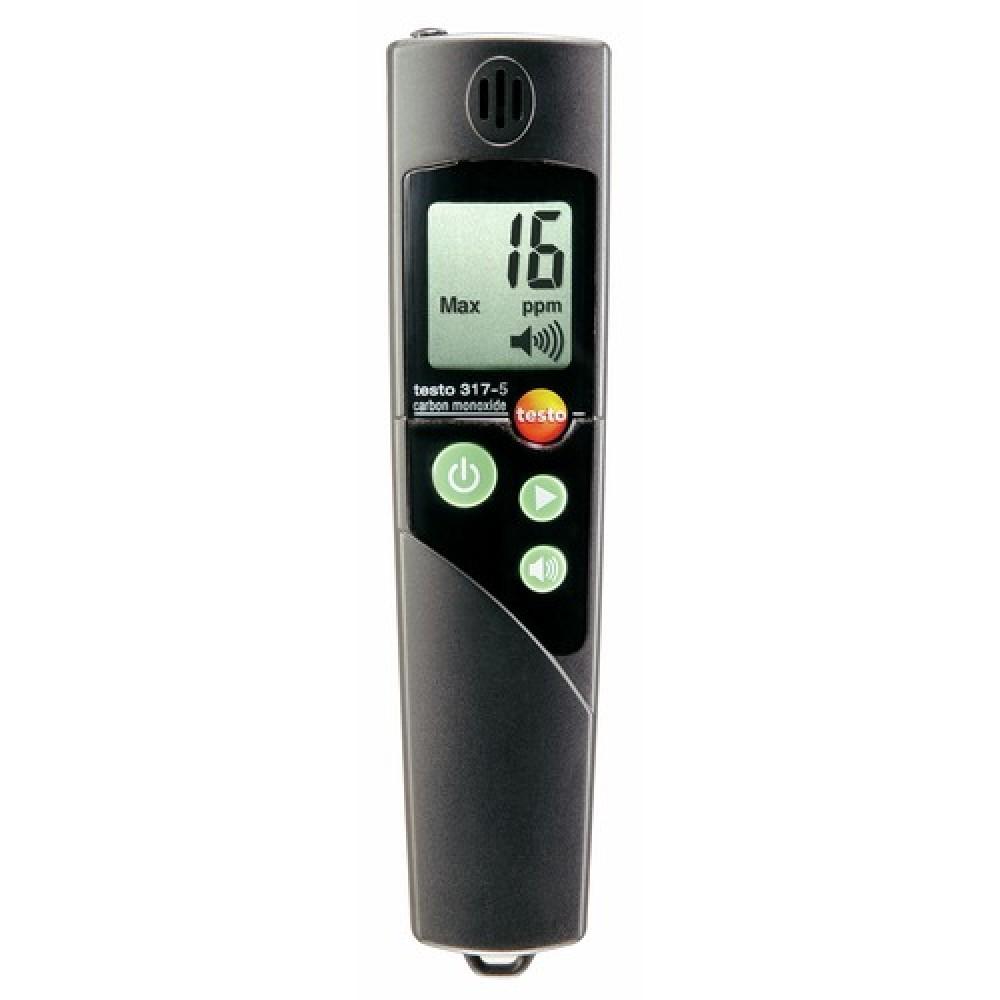 d tecteur monoxyde de carbone alarme 317 5 testo bricozor