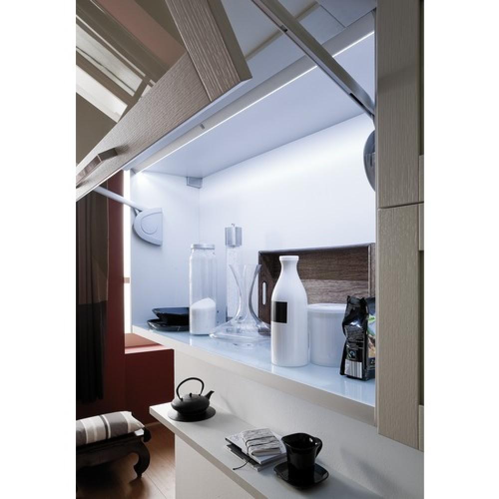 r glette avec capteur de pr sence clairage placard led perth l s light bricozor. Black Bedroom Furniture Sets. Home Design Ideas