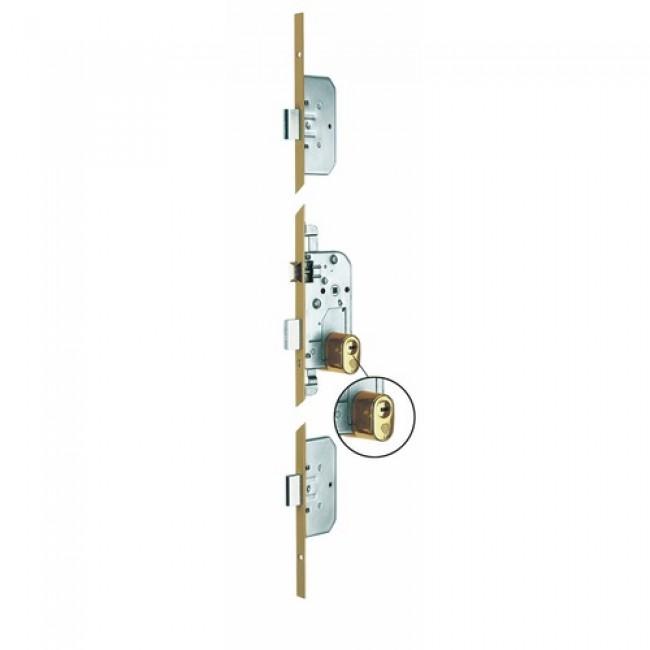 Serrure 3 points A2P** - pênes rectangulaires - Trilock 5000 SGN2 VACHETTE