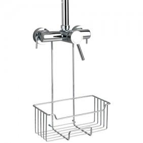 Serviteur de douche en acier à accrocher sur mitigeur - Milo WENKO
