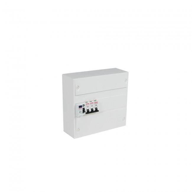 Coffret électrique - pré-équipé - capacité 13 modules DEBFLEX