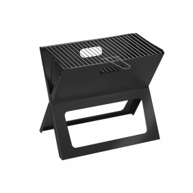 Barbecue charbon pliable 48x27cm avec housse de transport - SBM INDOOR OUTDOOR