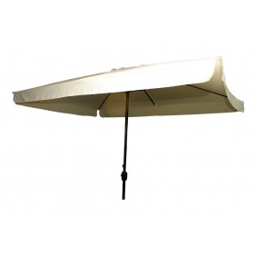 Parasol droit – toile rectangulaire beige écru – Héritage INDOOR OUTDOOR