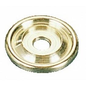 Rosaces pour boutons 1026 et 1029 - laiton poli FERRASSE