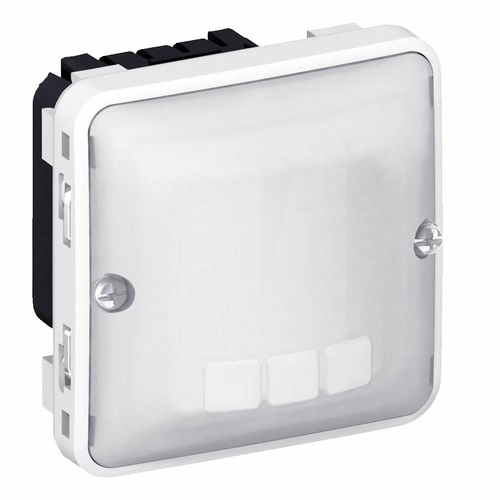 interrupteur automatique composable tanche plexo bricozor. Black Bedroom Furniture Sets. Home Design Ideas