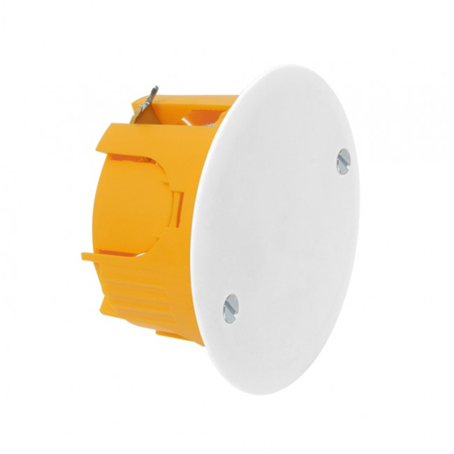 Boite ronde 65x40mm - orange DEBFLEX