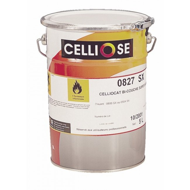 Vernis bi-couche-  aspect satiné -5 litres - Celliocat CELLIOSE