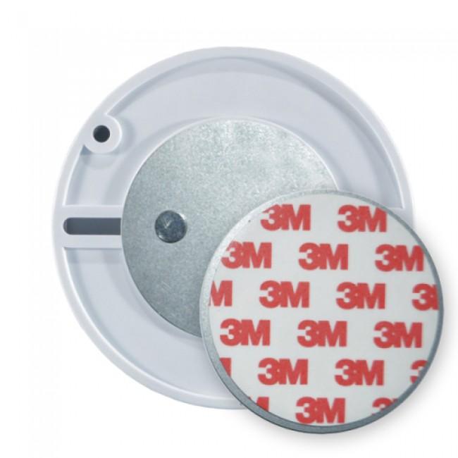 Embase de montage magnétique ronde pour fixation des détecteurs Orno