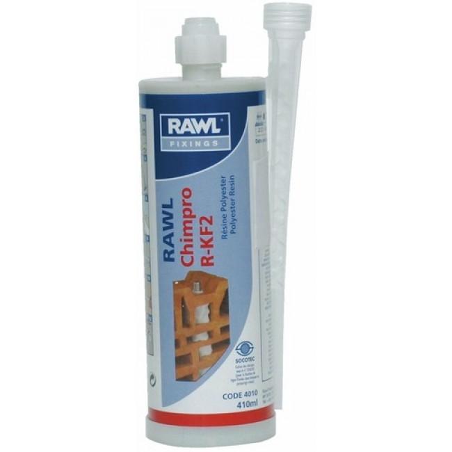 Scellement chimique - résine polyester - cartouche 410 ml - R-KF2 RAWL