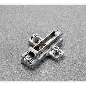 Embases cruciformes à clipser avec vis euro SALICE
