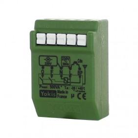 Micromodule radio pour volets roulants encastré - 500 W - MVR500ERP YOKIS