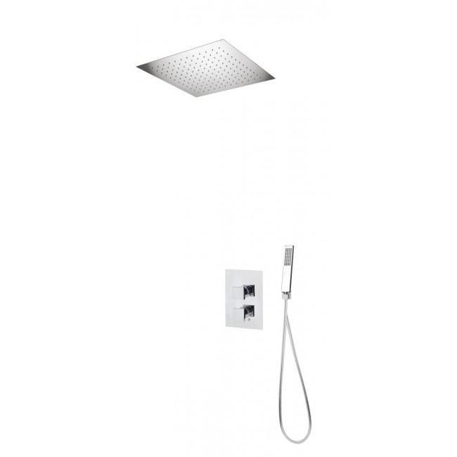 Colonne de douche encastrable plafond avec mitigeur PISTOIA SARODIS
