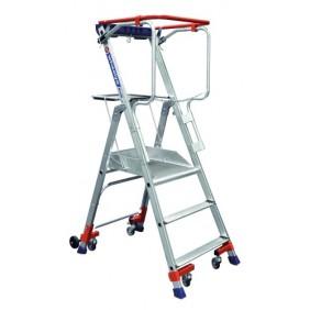 Plates-formes individuelles hauteur de travail fixe - Wheelys DUARIB