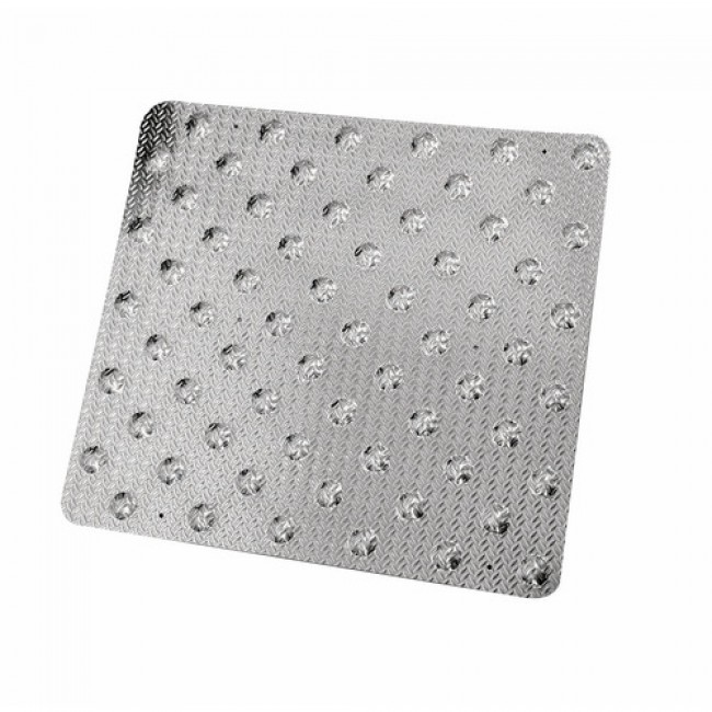 Dalle podotactile en inox 316 pour intérieur et extérieur DUVAL