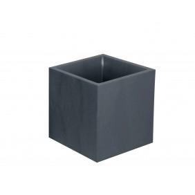 Bac carré anthracite - longueur 40 cm - 31 litres - Volcania  13730 EDA PLASTIQUES