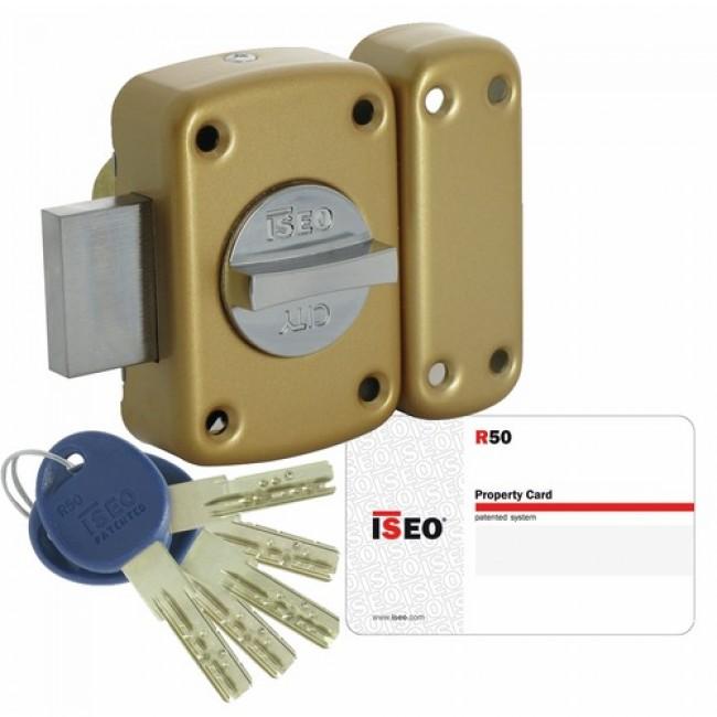 Verrou ISR50 haute sécurité à bouton ISEO
