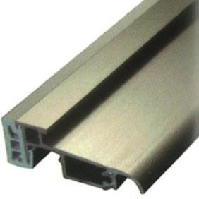 Seuil aluminium argent pour porte et porte-fenêtre PVC - 6 m BILCOCQ