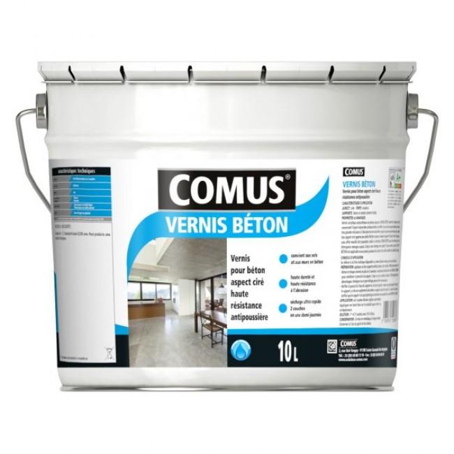 Vernis beton - aspect ciré incolore -  haute résistance COMUS