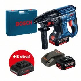Perforateur sans fil SDS-Plus GBH 18V-20 2x5Ah + batterie ProCore offerte BOSCH